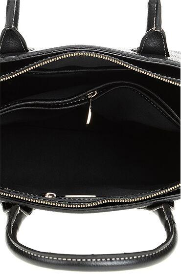 Siyah Düz Desen Çanta