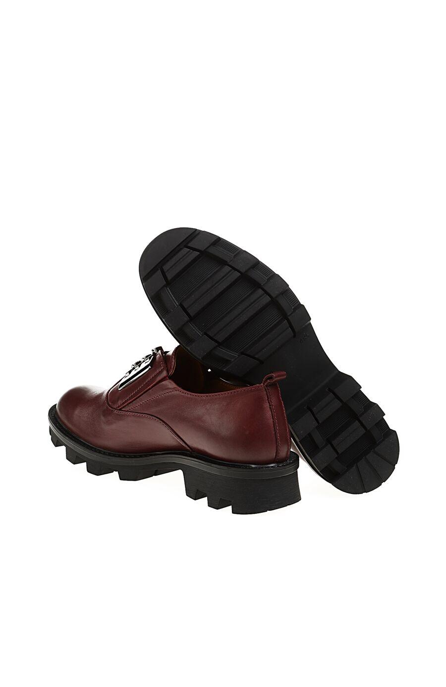 Metal Aksesuarlı Bordo Ayakkabı