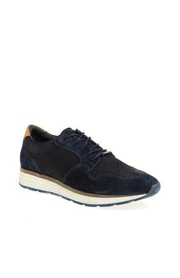 Lacivert Süet Sneaker