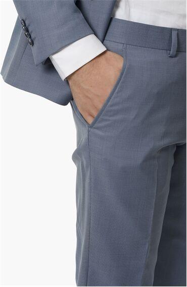 Mikro Rahat Kesim Mavi Takım Elbise