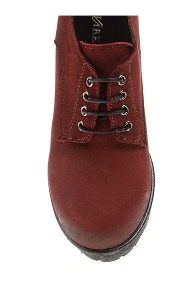 Nubuk Bordo Ayakkabı