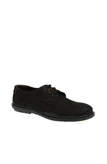 Bağcıklı Siyah Süet Ayakkabı Divarese