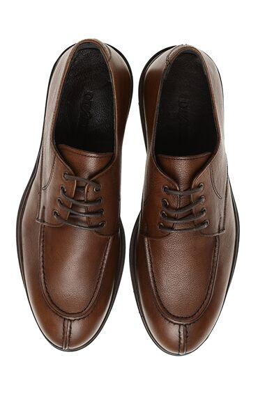 Bağcıklı Kahverengi Ayakkabı