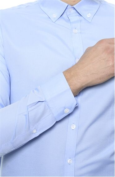 George Hogg Mavi Gömlek