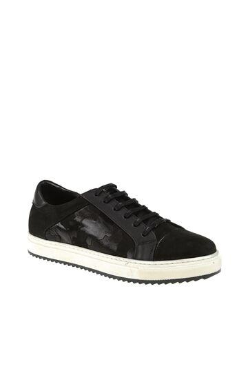GIRO Kamuflaj Desenli Siyah Sneaker
