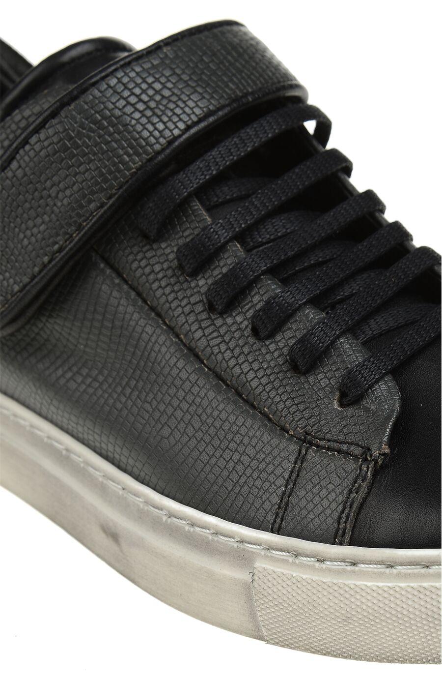 Gri Deri Sneaker