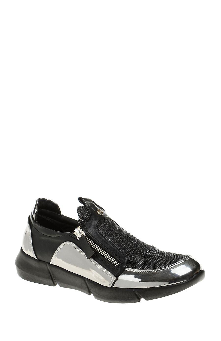 Metalik Etkili Siyah Giro Sneaker