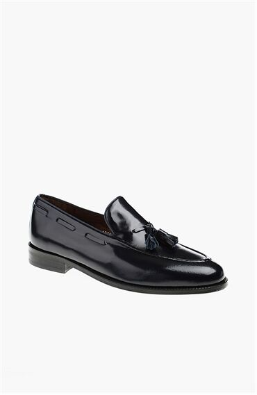 Lacivert Erkek Loafer