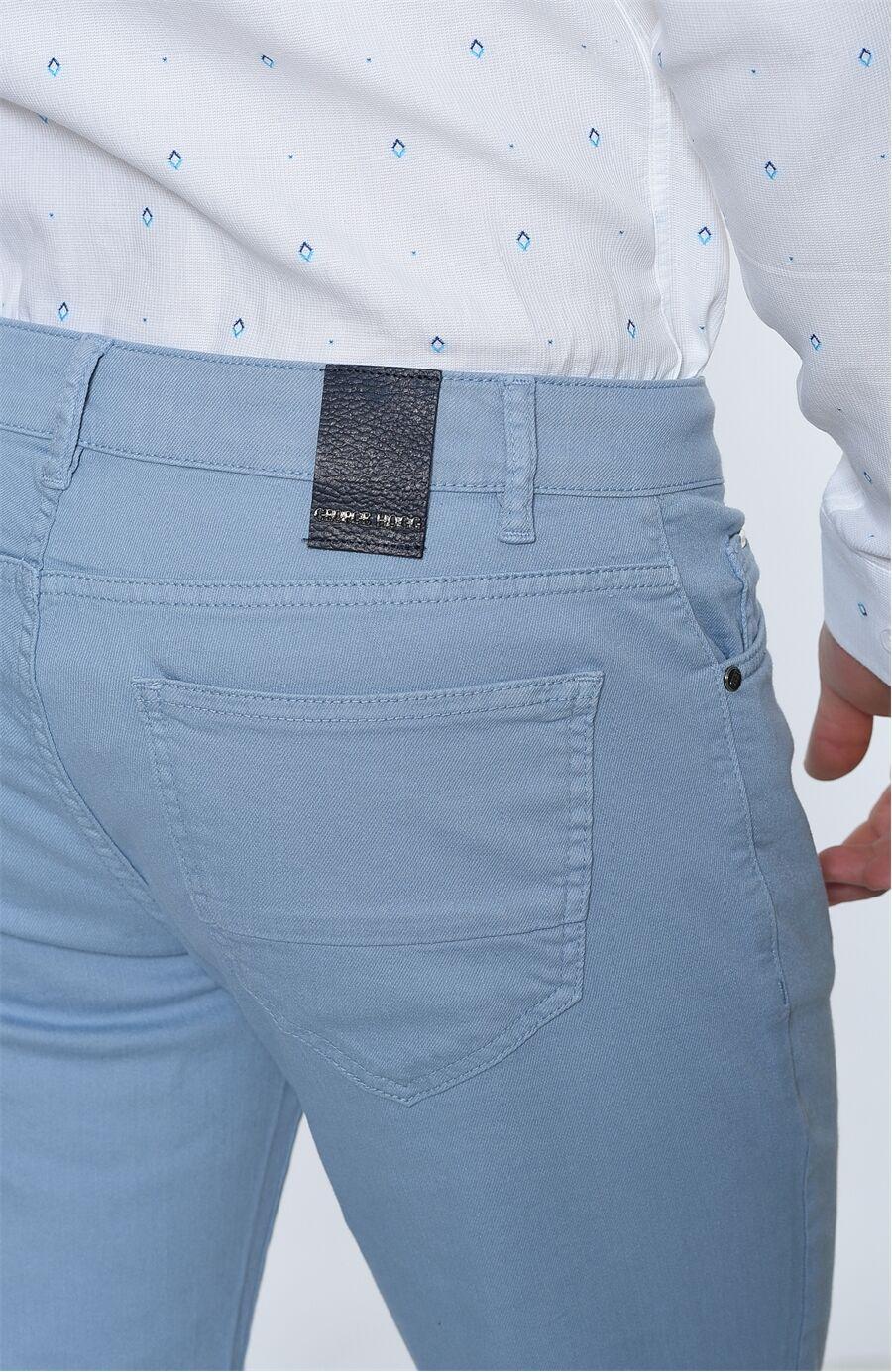 Açık Mavi Casual Pantolon