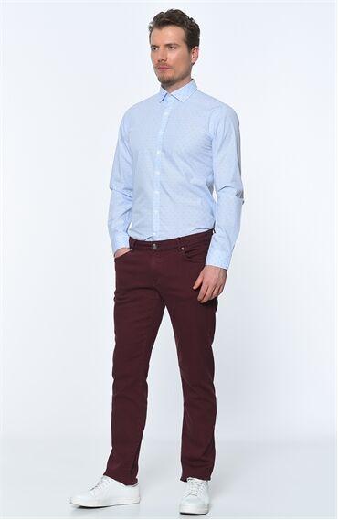 Bordo Casual Pantolon