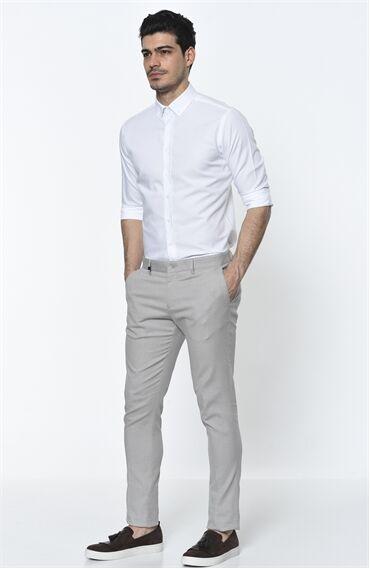 Oxford Regular Fit Beyaz Gömlek
