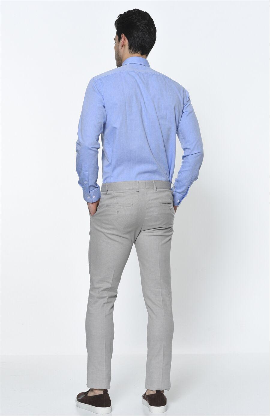 Oxford Regular Fit Mavi Gömlek