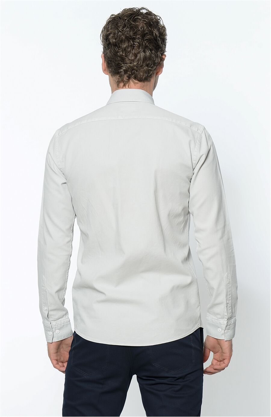 Taş Rengi Gömlek