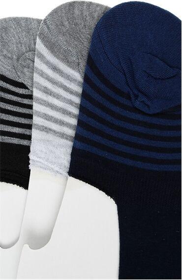 Siyah Üçlü Çorap Set