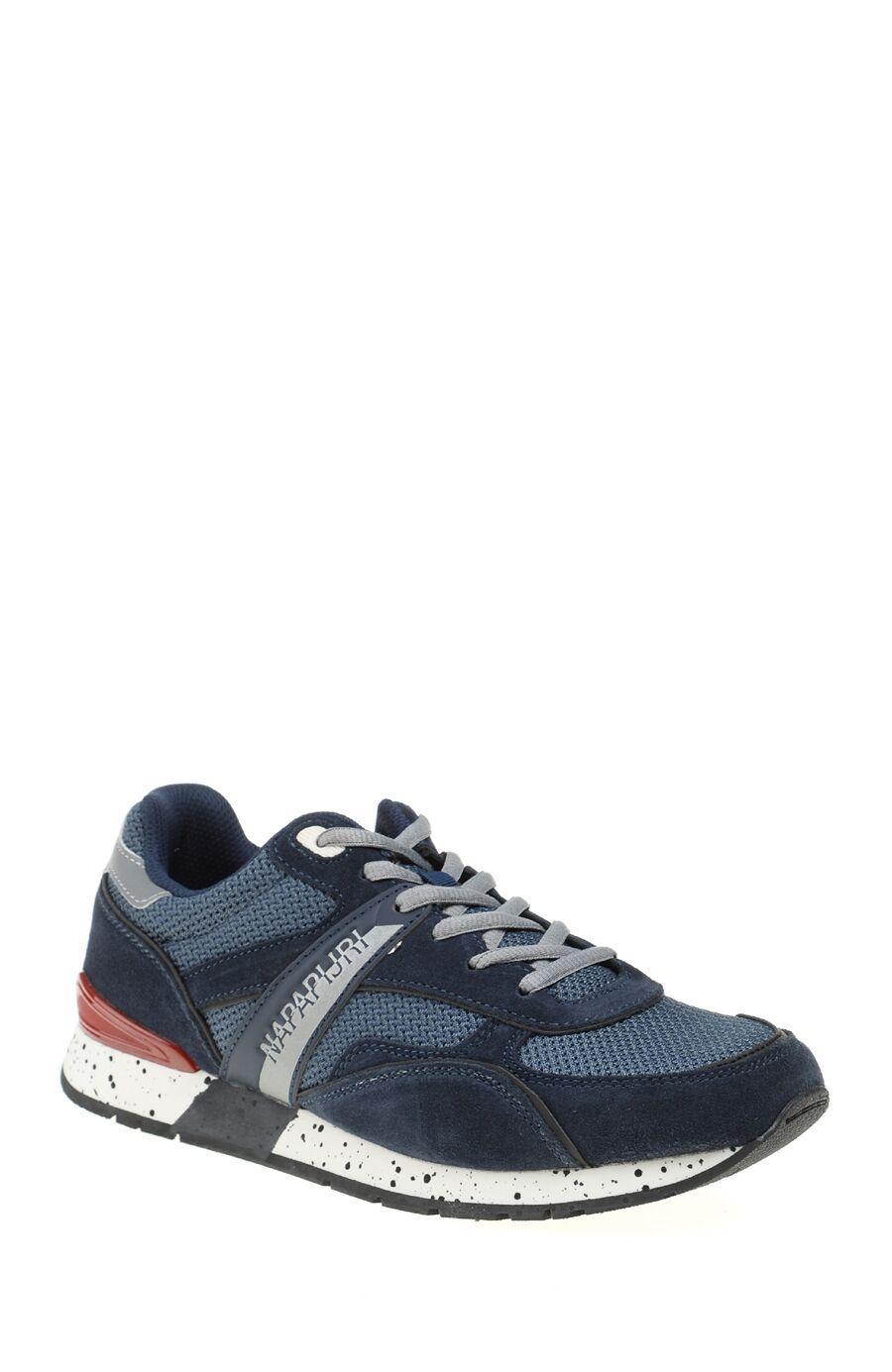 Bağcıklı Lacivert Sneaker
