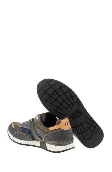Yün Koyu Gri Ayakkabı