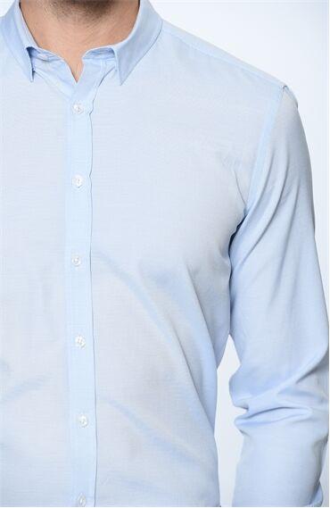 Ekose Mavi Gömlek