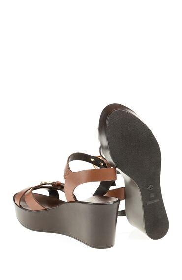 Taba Deri Sandalet