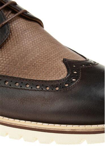 Vizon Deri Oxford Ayakkabı