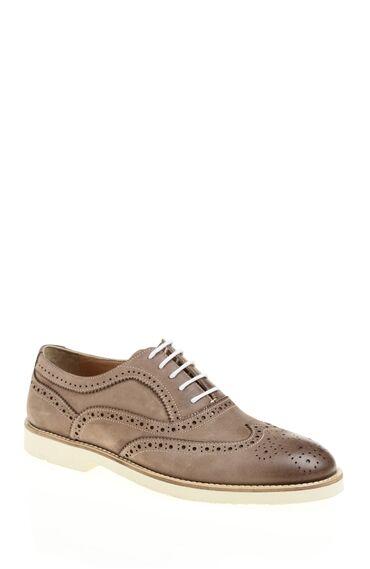 Kum Beji Deri Ayakkabı