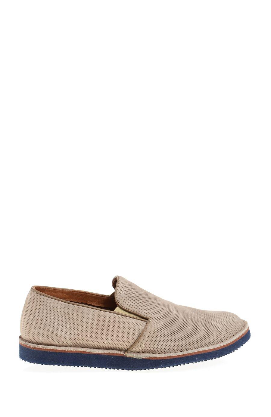 Vizon Rengi Deri Ayakkabı