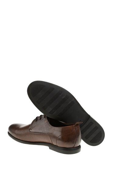 Dokulu Kahverengi Ayakkabı