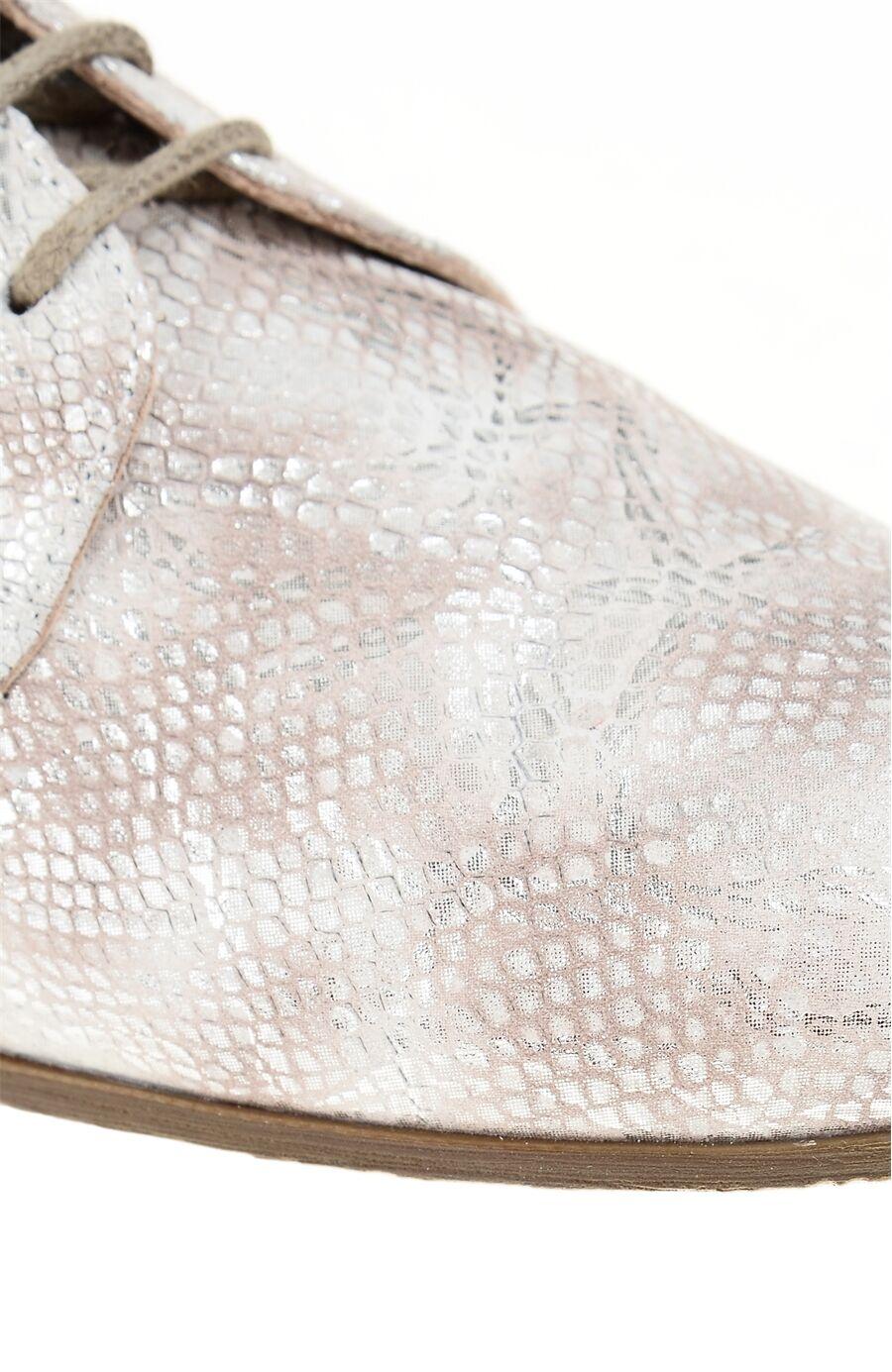 Yılan Baskı Bej Ayakkabı