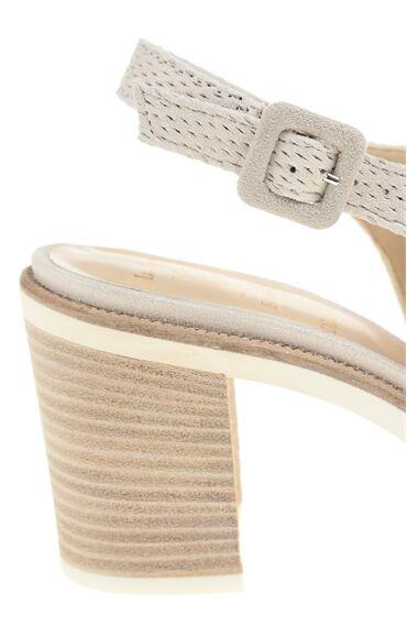 Nubuk Bej Sandalet