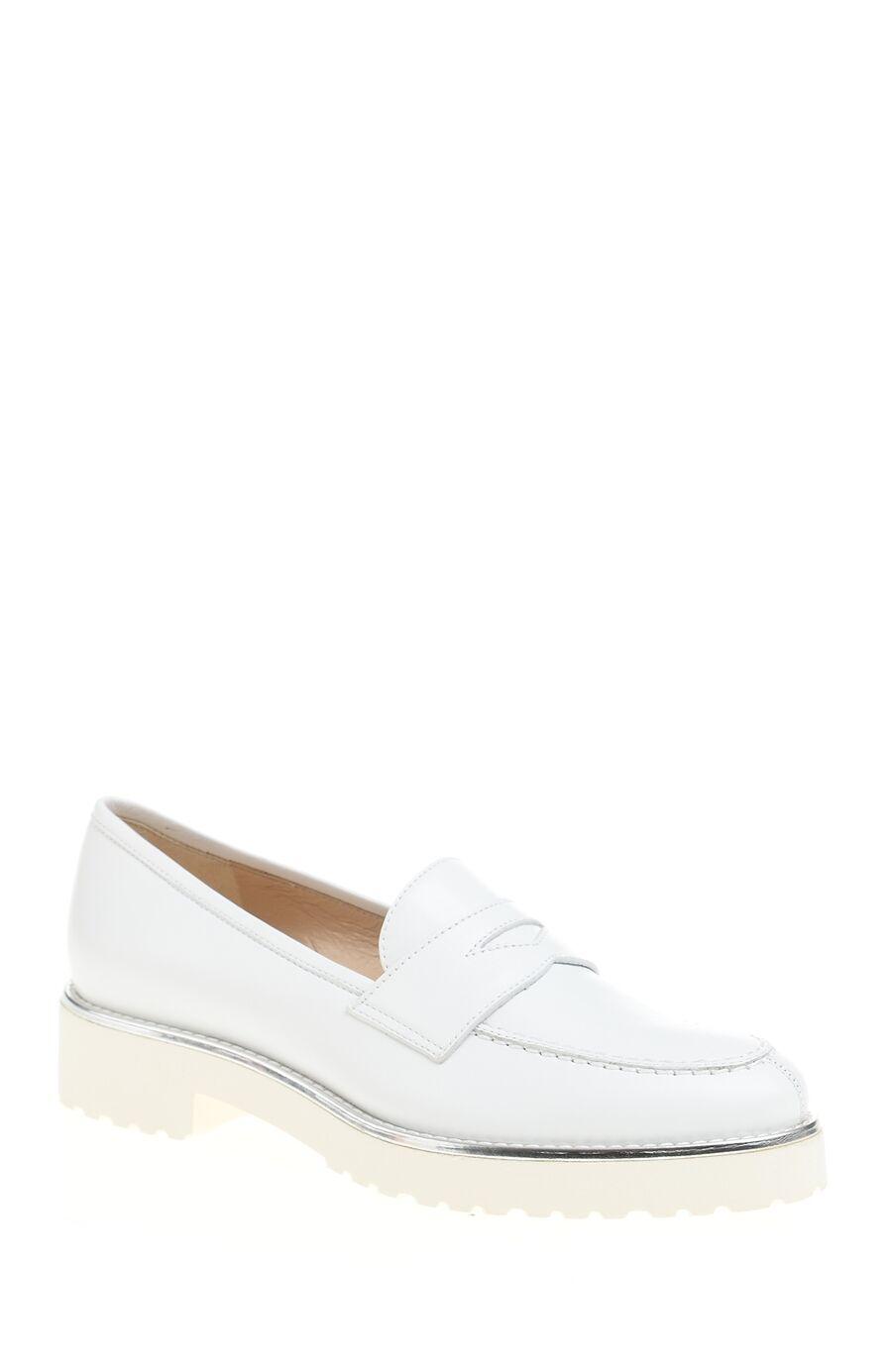 Beyaz Deri Loafer