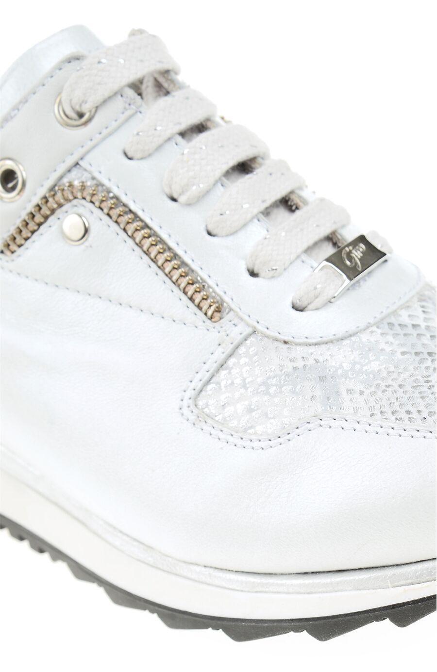 Beyaz Deri Giro Sneaker