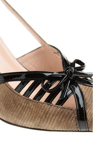 Camel Deri Ayakkabı