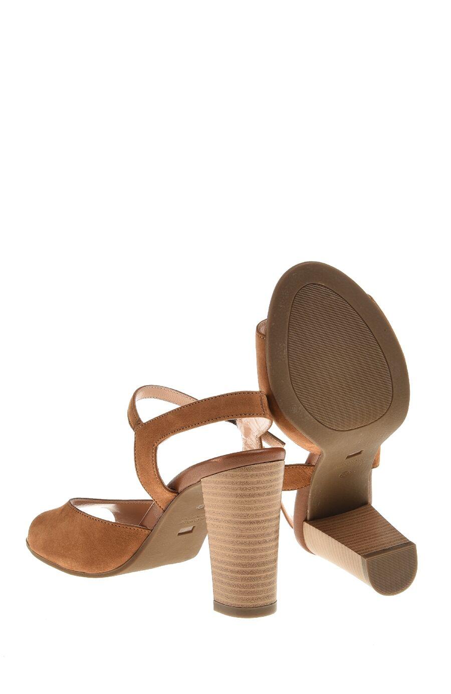 Nubuk Taba Sandalet