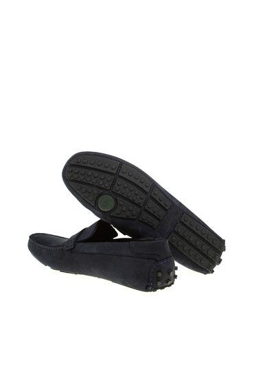 Nubuk Lacivert Loafer