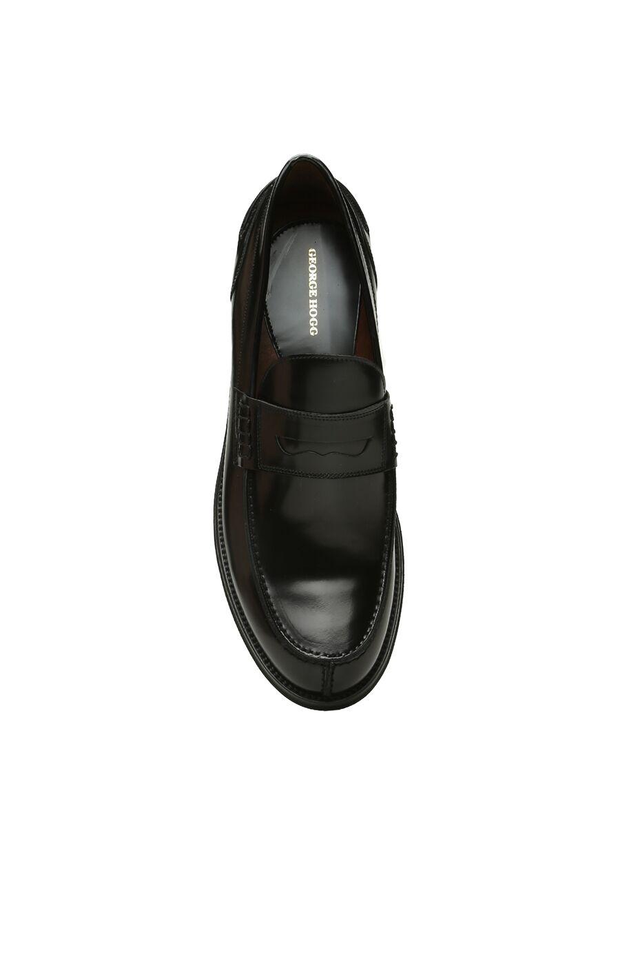 Siyah Erkek Deri Loafer