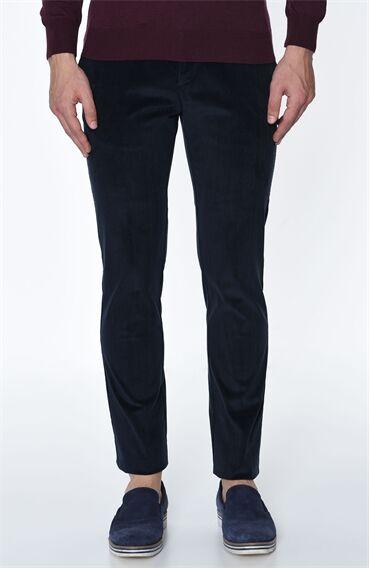 Fitilli Lacivert Pantolon