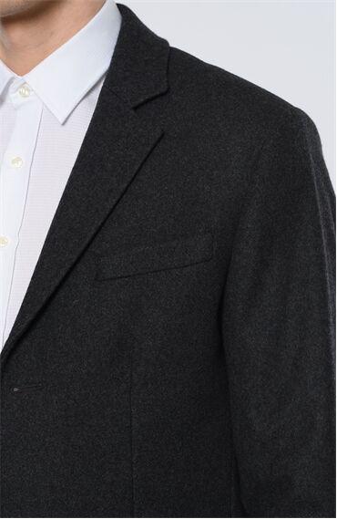 George Hogg Antrasit Yün Palto