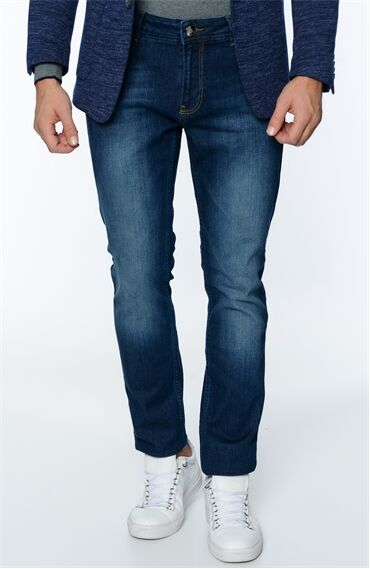 George Hogg Lacivert Denim Pantolon