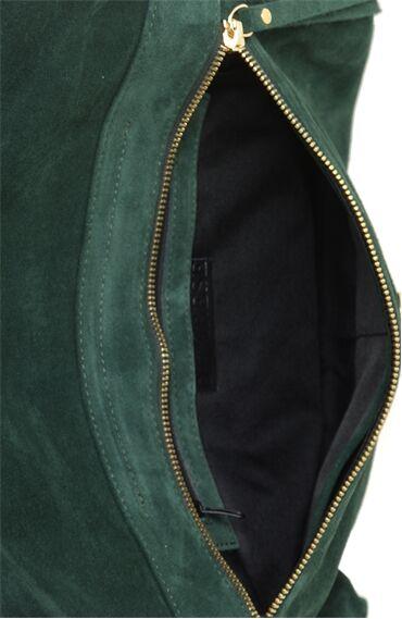 Nubuk Yeşil Çanta