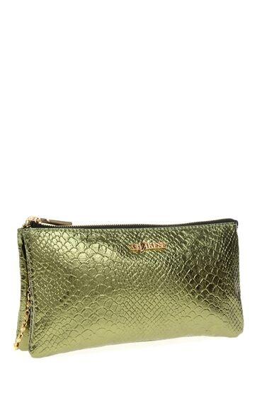 Yeşil Zincir Askılı Clutch