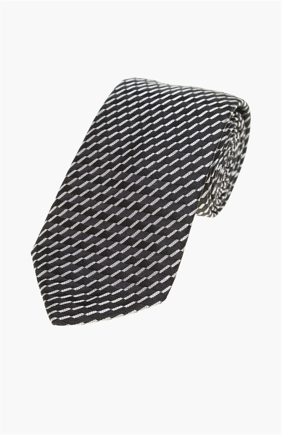 Ipek Siyah Erkek Kravat