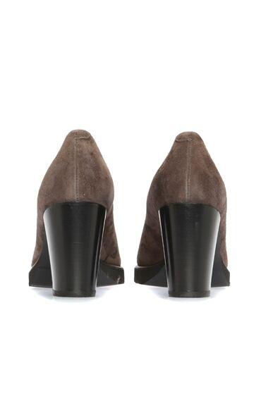 Luca Grossi Vizon Deri Gova Topuklu Ayakkabı