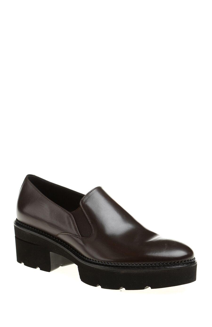 Luca Grossi Kahverengi Deri Ayakkabı