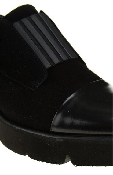 Süet Siyah Kadın Ayakkabı