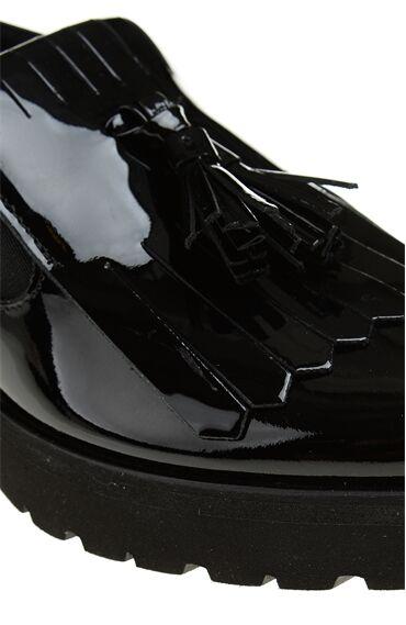 Luca Grossi Siyah Deri Ayakkabı