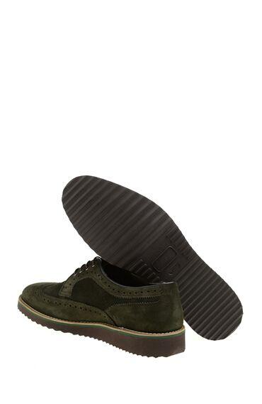 Süet Yeşil Erkek Ayakkabı