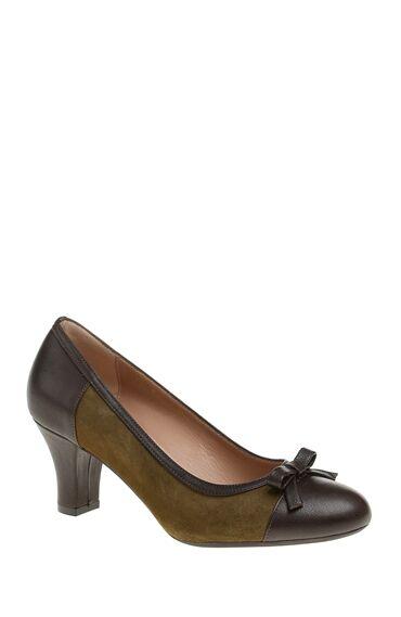 Haki Deri Gova Ayakkabı