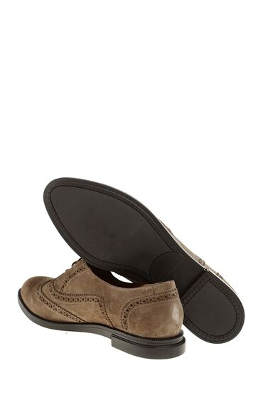 Kum Rengi Deri Ayakkabı