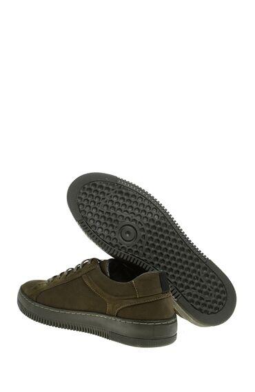 Nubuk Yeşil Sneaker