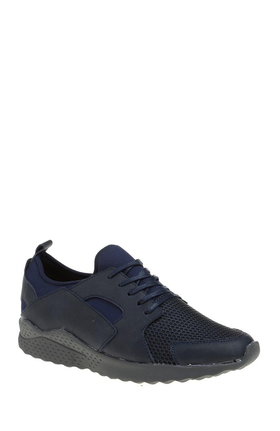 Lacivert Deri Sneaker
