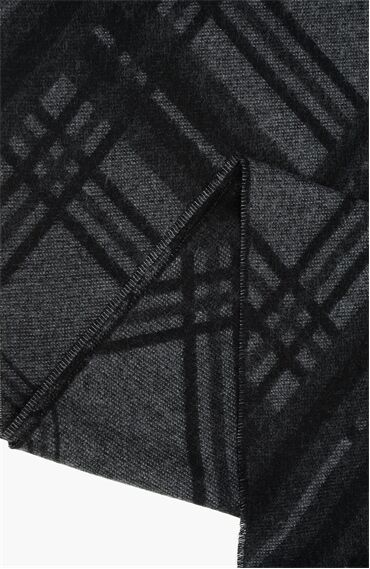 Gri Atkı + Erkek Eldiven Seti